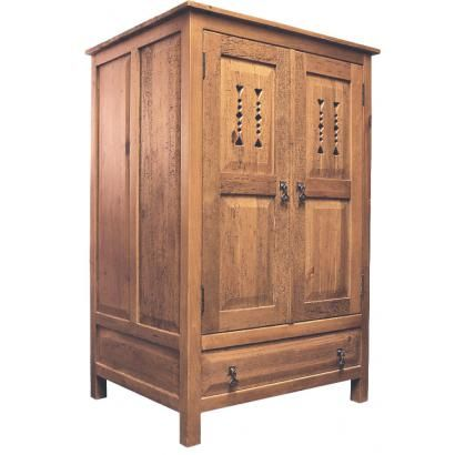Deep Taos Armoire   LaFuente Southwest Furniture Collection