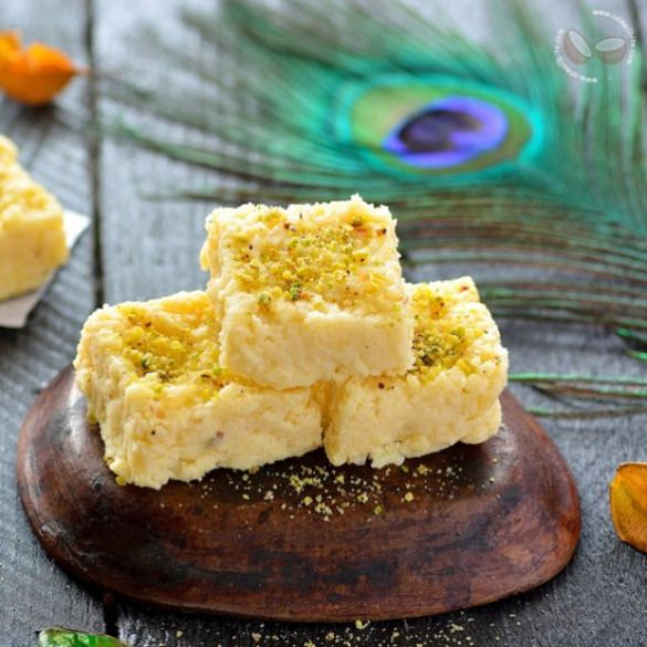 kalakand recipe instant kalakand recipe sweets and desserts rh pinterest com