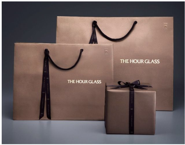 The Hour Glass Luxury Paper Bag