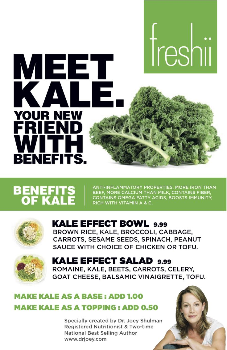 Kale is my friend with benefits. #FreshiiFast Food