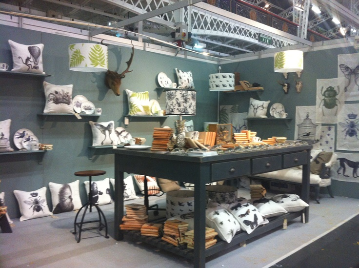 Natural History's booth or stand at Top Drawer September 2012