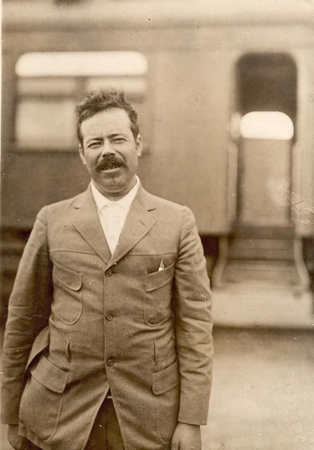From Peasant to Revolutionary, the Life of Pancho Villa: Portrait of Mexican military commander General Pancho Villa (1878 - 1923), late 1910s.