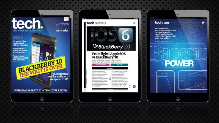 BB10: all the reaction in the latest tech. magazine for iPad | This week's issue of tech. magazine is packed with everything you need to know about BlackBerry 10. Buying advice from the leading technology site