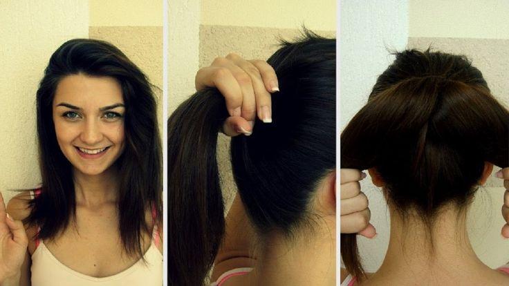 A Sexy Moments of Washing Hair - Best haircut long hair to a medium/shor...