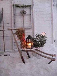 primitive white christmas - Google Search