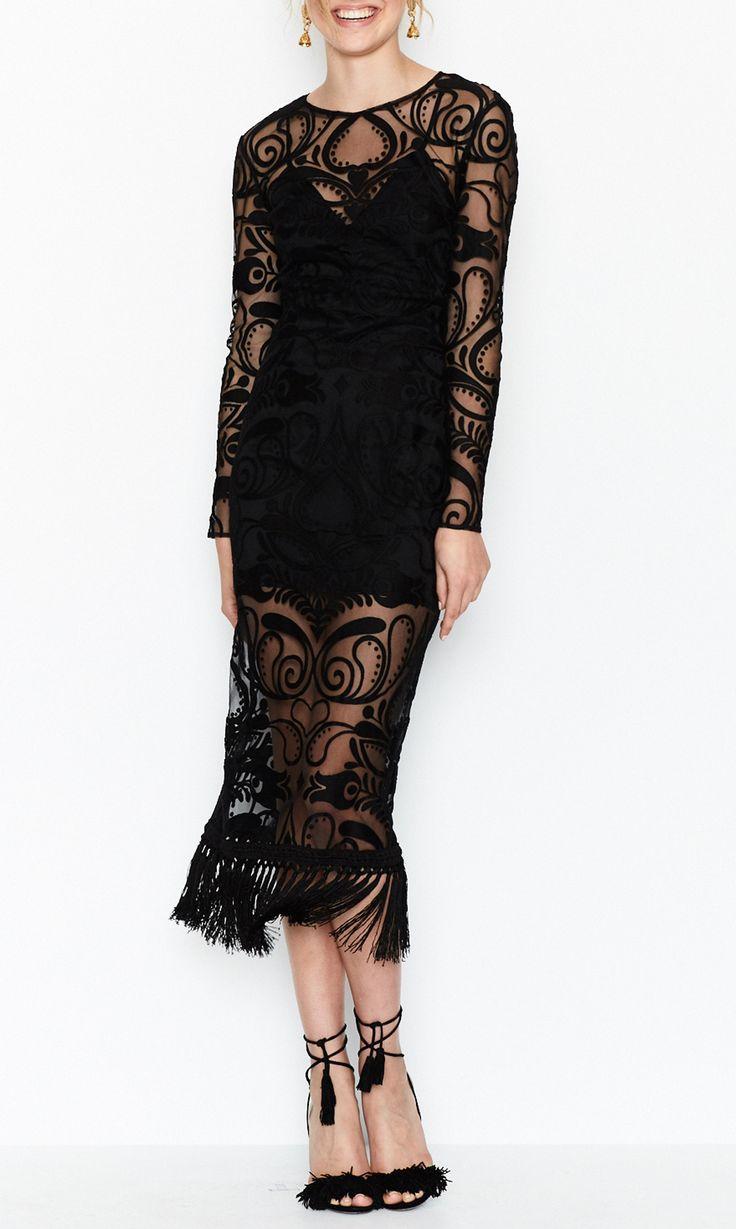 Alice McCALL - Tattoo Lady Dress - Black