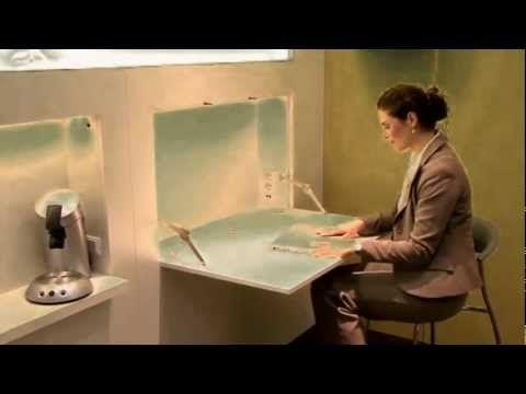 ▶ Kleiderschrank und versteckter Schreibtisch im Hotel (10) - YouTube