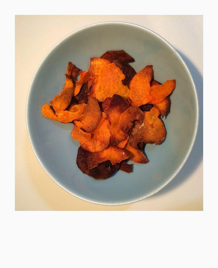 chips av søtpotet