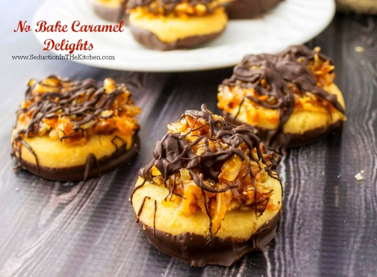 No-Bake Caramel Delights Recipe
