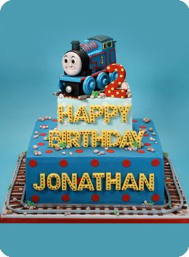 Thomas Cake: Hand Sculpted Cakes