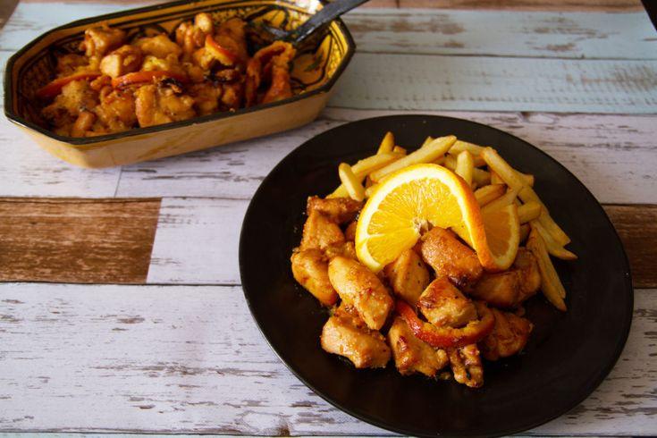 Mézes-narancsos csirke – Ceruzabab
