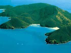 Brampton Island, Australia.