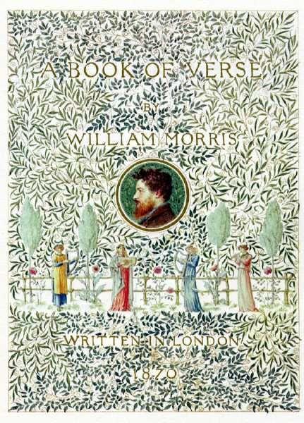 Book of Verse 1870, William Morris