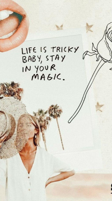 Beige Aesthetic Wallpaper Quotes