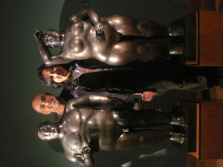 Enjoy the Botero´s Museum, the most famous pintor and sculptor in Colombia!