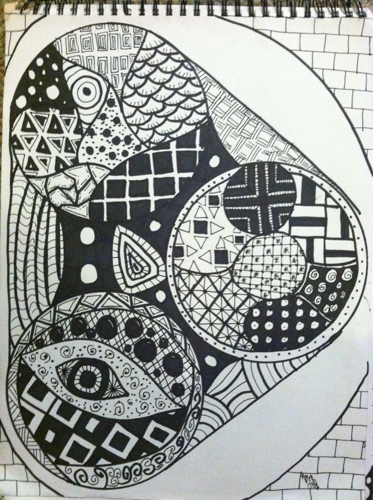282 Best Images About Zentangles On Pinterest Shrink