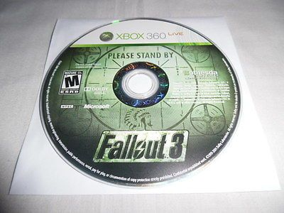 Fallout-3-Microsoft-Xbox-360-game-Disc-Only selling for 6.64