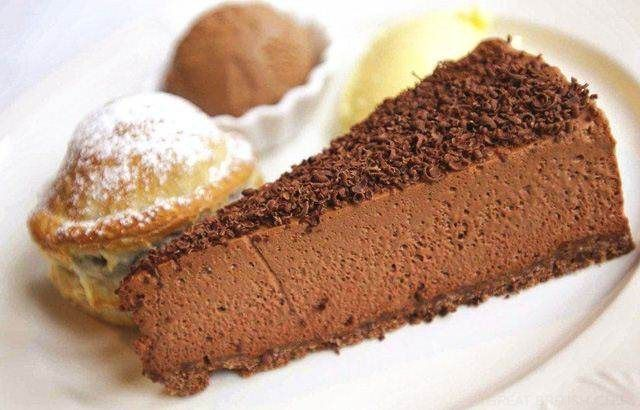 Chocolate Cheesecake  with  Puff Pastry Pithiviers Recipe - Chef Bryan Webb
