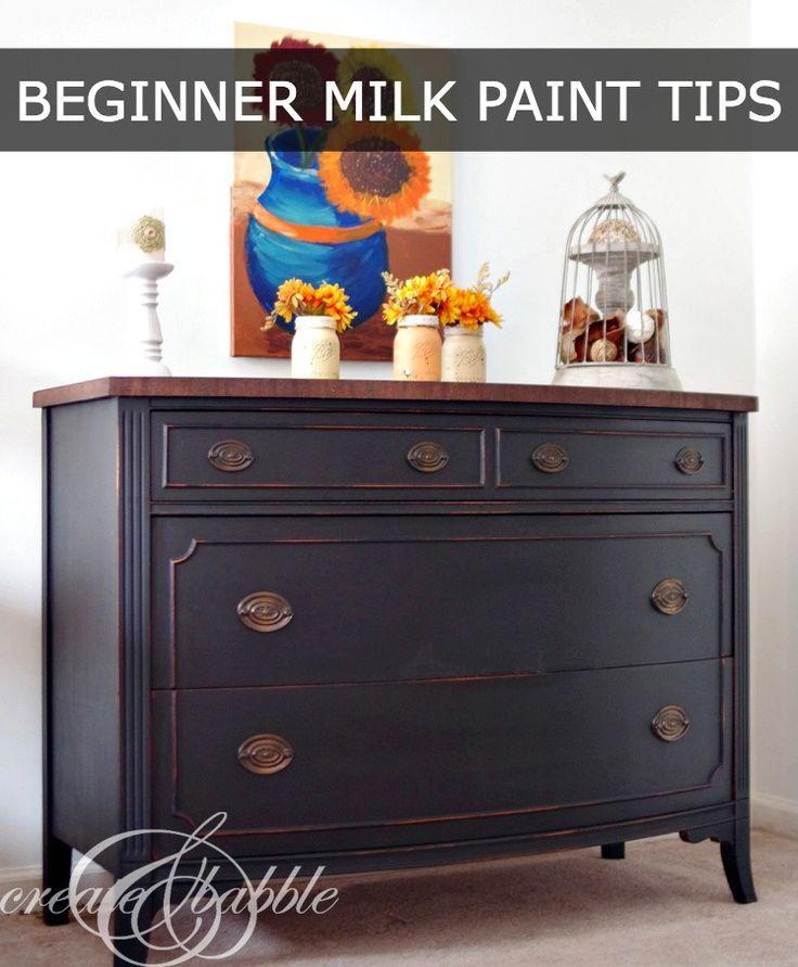 Painted Dresser with Milk Paint 1108 best