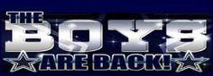 Dallas Cowboys Schedule | THE BOYS ARE BACK