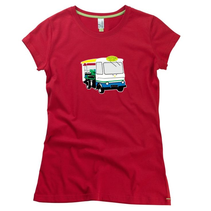 Craggy Island Milk Float adults T-Shirt from Teds Tees by HairyBaby, official supplier of Father Ted T-shirts