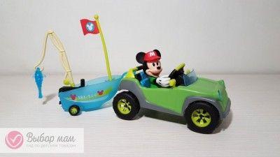 Игровой набор серии Кемпинг ВНЕДОРОЖНИК МИККИ Клуб Микки Мауса Off Road VehiclesХотим презентовать вам еще один симпатичнй наборчик из серии Клуб Микки Мауса Кемпинг, называется он ...