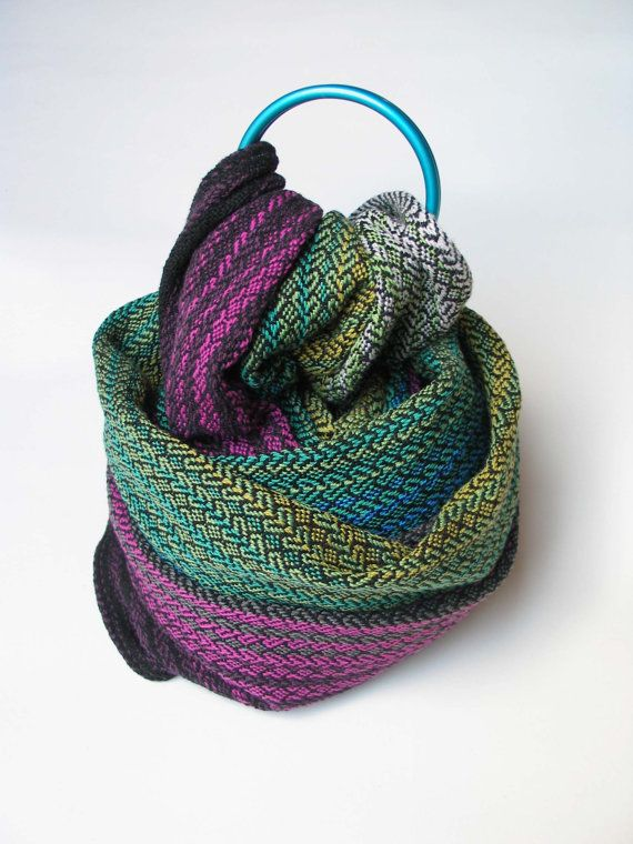 Fascia porta bebè tessuta a mano in lana merino, su ordinazione by Mireloom #italiasmartteam #etsy