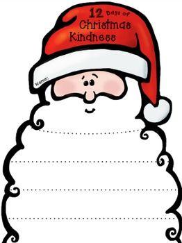 12 Days of Christmas Kindness (Editable) Whimsy Workshop Teaching