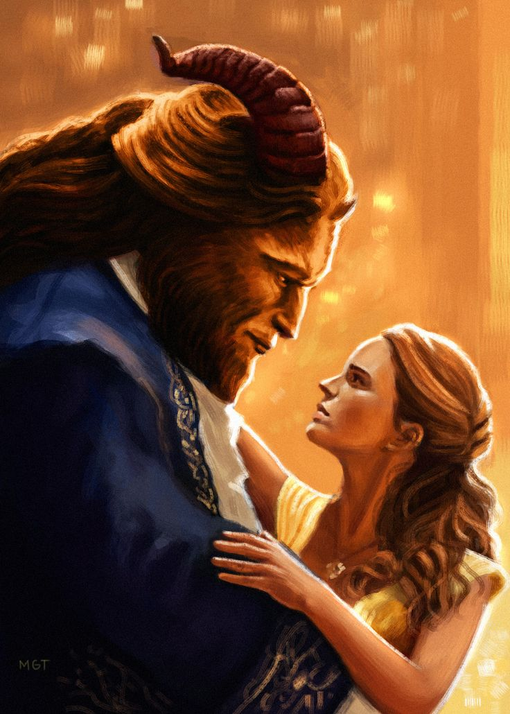 Beauty and the Beast fan art, marvin tabacon on ArtStation at https://www.artstation.com/artwork/beauty-and-the-beast-fan-art