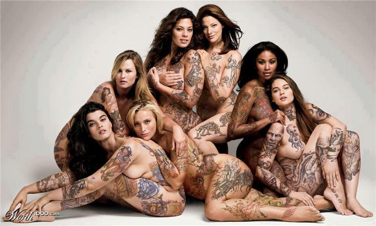 plus size tattoo bbw's