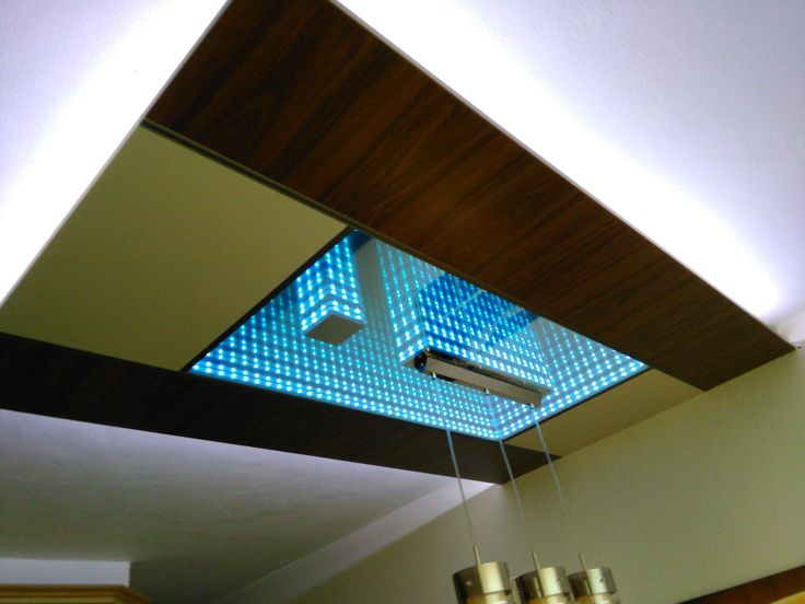 LED Infinity Mirror Ceiling