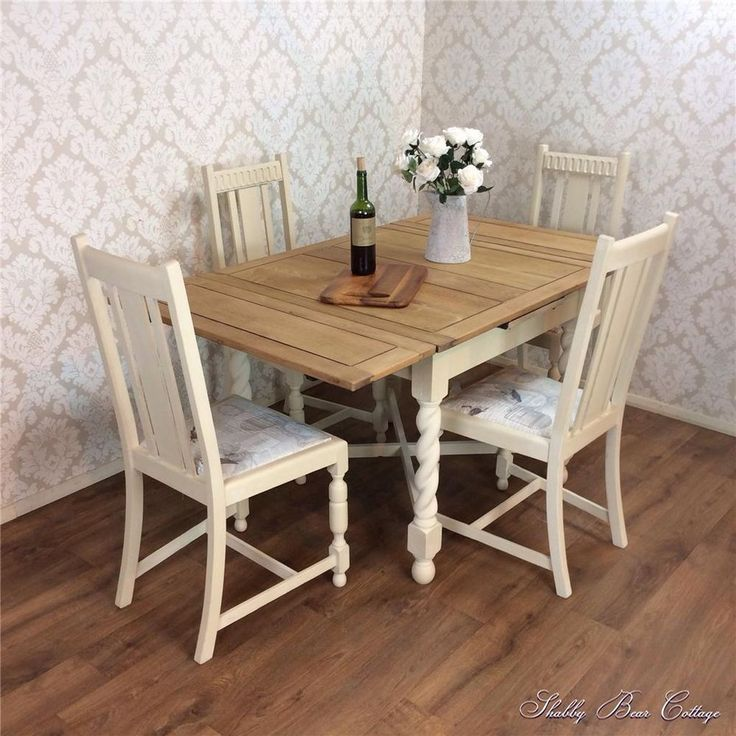 The 263 best images about the shabby bear cottage on for Rustic shabby chic dining table