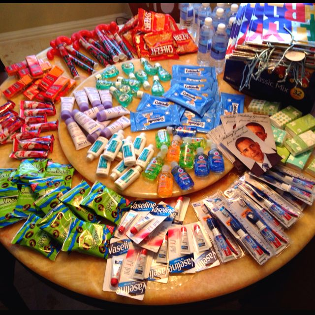 Goody bags for the homeless :) I am doing this for Christmas for sure! It makes me so sad when I see homeless ppl everywhere...
