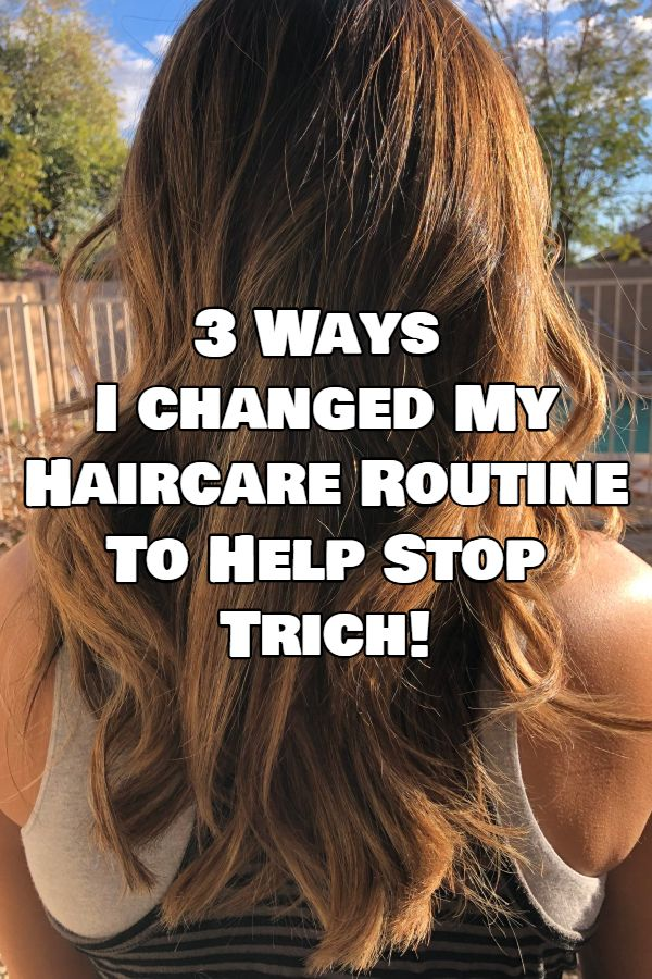3 Ways I Changed My Haircare Routine For Dramatic Hair Regrowth Trichotillomania Blog Hair Care Routine Hair Loss Remedies Help Hair Loss