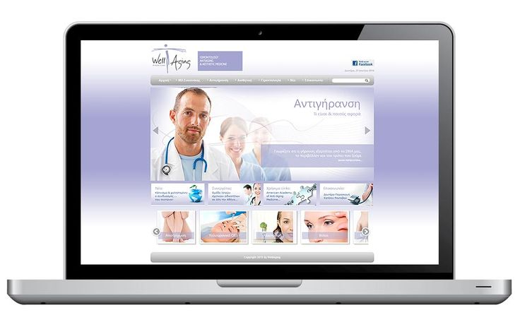 ThinBAG designed, developed and administrate the new website of Well Aging Athens Clinic.