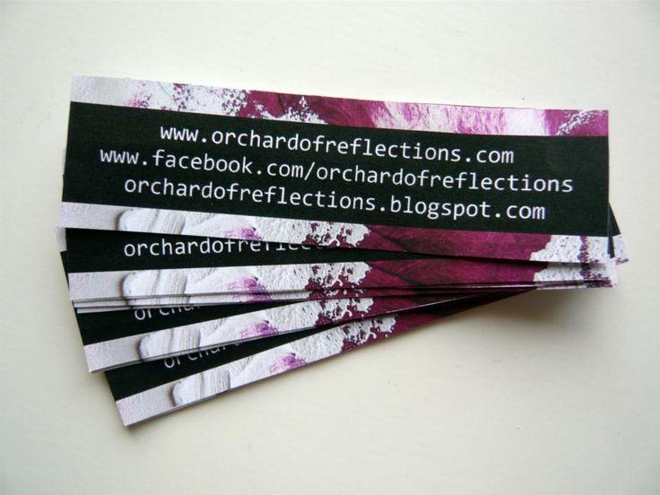 www.orchardofreflections.com www.facebook.com/orchardofreflections https://twitter.com/OrchardReflect