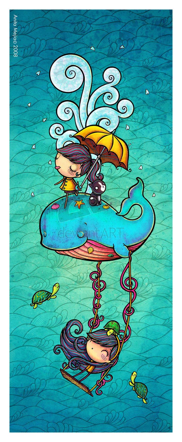 Ilustración de Anita  Mejía                                                                                                                                                      Más