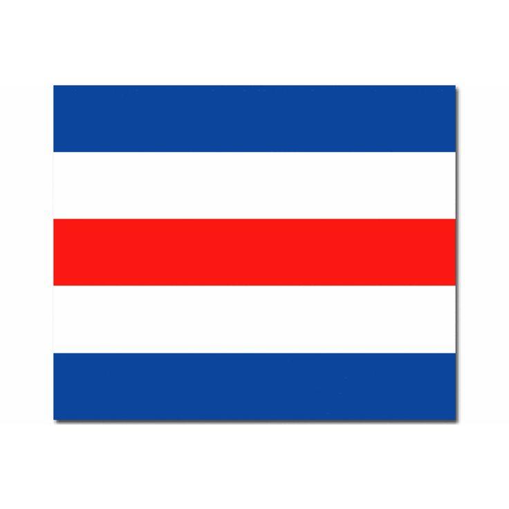 Seinvlag C 20x24cm Materiaal spun ofwel spunpoly, rondom gezoomd met koord en lus, hoogste kwaliteit seinvlag. Betekenis van deze Signaalvlag C Charlie : Ja, (bevestigend) In Frankrijk is iedereen verplicht deze seinvlag aan boord te hebben samen met de seinvlag N Bij Zeilwedstrijden geeft men met deze seinvlag aan dat er een boeiverlegging is!