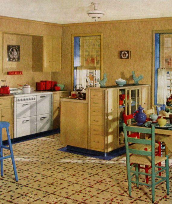 Retro Linoleum Kitchen Flooring: 25+ Best Ideas About Linoleum Flooring On Pinterest