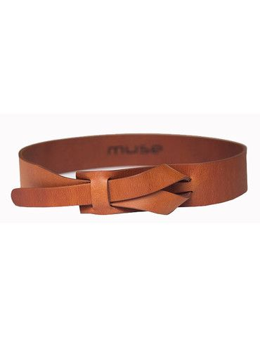 Muse Looped Belt Camel | Kaight