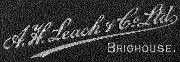 Our original Leach logo, from 1897!