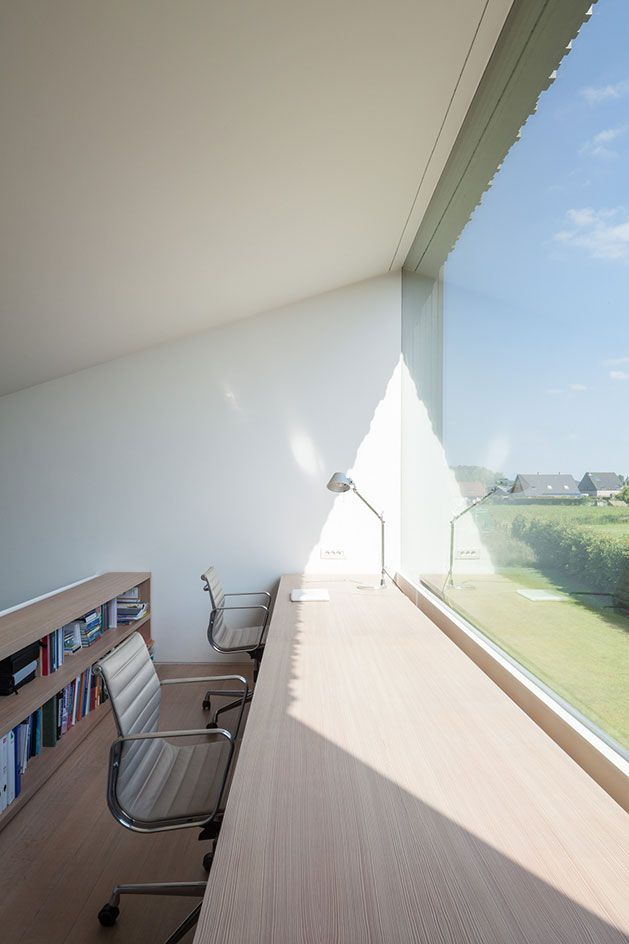 bruno vanbesien architects . House TV . AFFLIGEM (9)