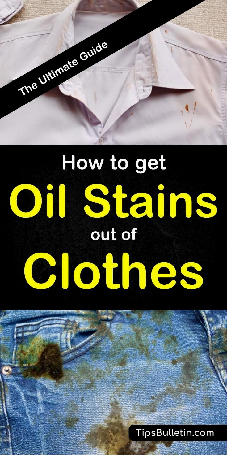 Pin By Taisya Kuzhba On Cleaning Oil Stains Stain On Clothes Remove Oil Stains
