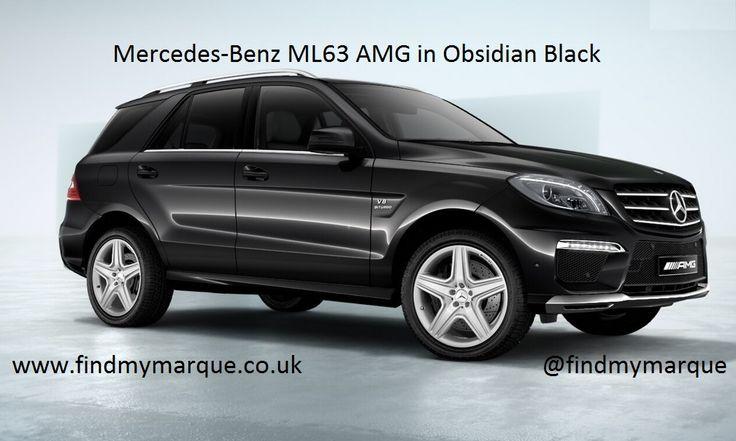 Mercedes ML63 Obsidian Black 20 Inch AMG Alloys