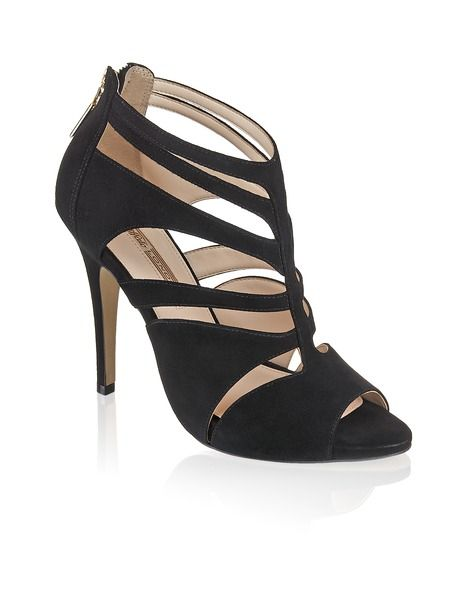 Buffalo Veloursleder-Sandalette - schwarz - Gratis Versand   Schuhe   Sandalen & Sandaletten   Online Shop   1342817570