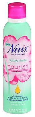 Hair Removal Creams and Sprays: (3 Pack) Nair Hair Remover Sprays Away Nourish 7.5 Ounce Legs And Body -> BUY IT NOW ONLY: $39.97 on eBay!