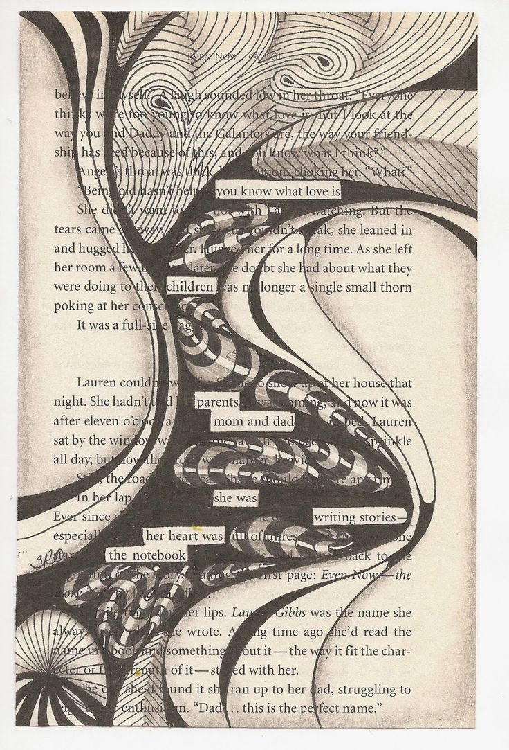 SuZen Art: Blackout Poetry