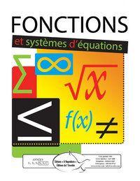 Fonctions et systèmes d'équations - Matériel reproductible