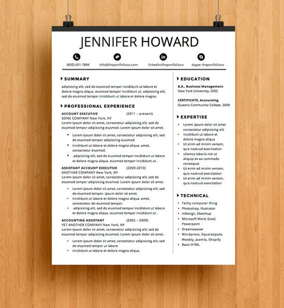 12 best images about graphic designer resume on pinterest