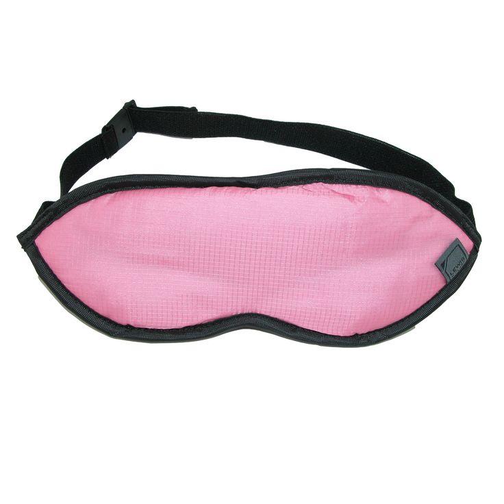 Lewis N Clark Plush Travel Eye Mask with Adjustable Straps